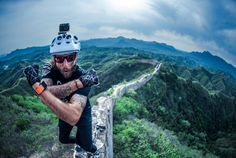 Mountain Bike en la Gran Muralla China