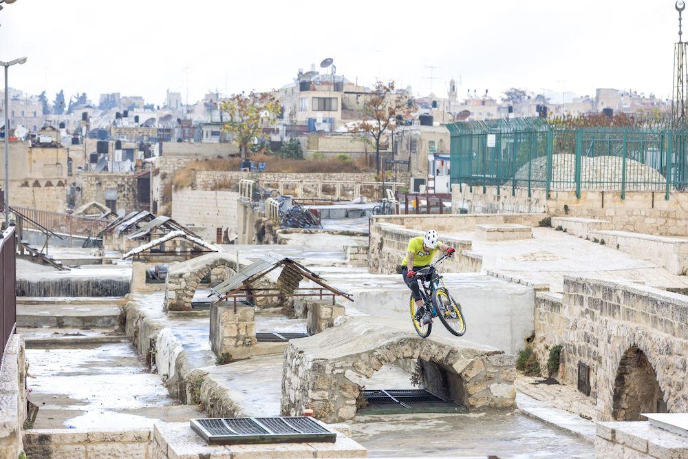 Aventura MTB en Israel