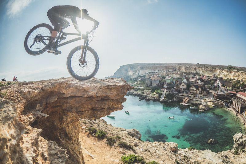 Malta en MTB con David Cachon